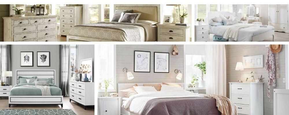Белая мебель для спальни подборка фото