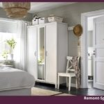 Белая мебель для спальни производства ИКЕА