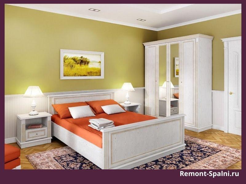 Фото комплекта мебели для спальни производства Столплит