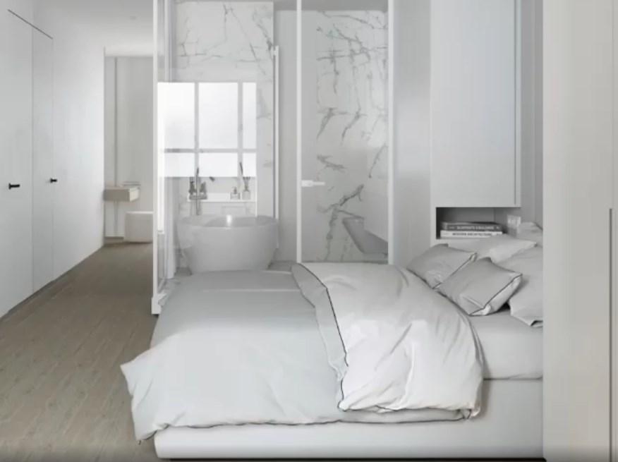 Мебель в белой спальне-6