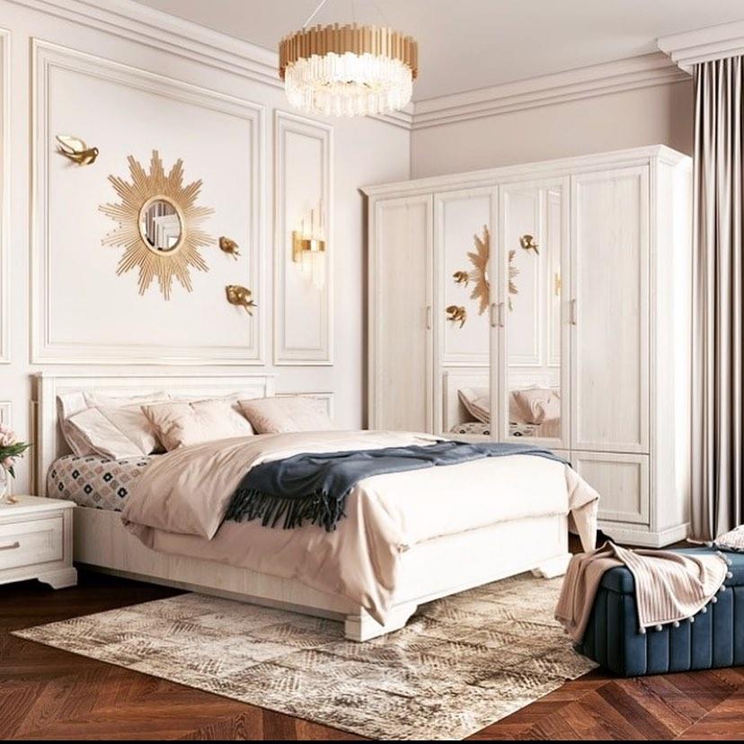 Освещение в белой спальне-3