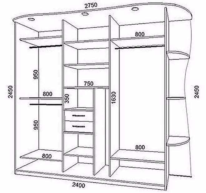 Шкаф-купе своими руками от А до Я: пошаговая инструкция, готовые чертежи и схемы, видео и фото