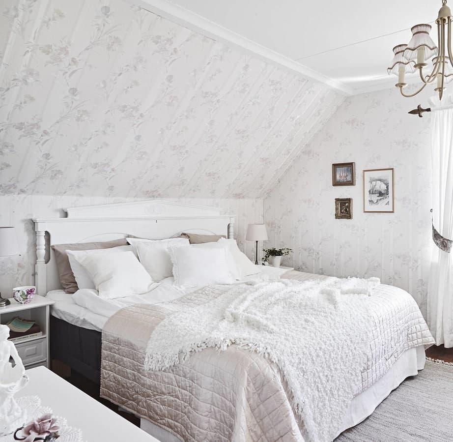 Женская белая спальня-5
