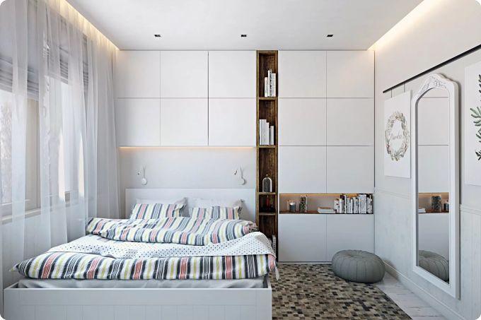 Планировка спальни – примеры, идеи, варианты и лайфхаки