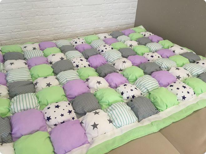 Как сшить одеяло бонбон: мастер-класс, варианты пошива, фотогалерея и схемы