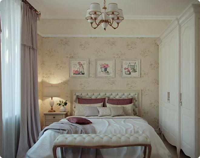 Спальня 8 кв. м (55 фото) - отделка, ремонт и декор маленькой комнаты