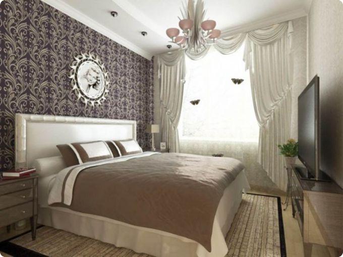 Свежие идеи дизайна спальни 17 кв. м (30 фото) - планировка, мебель, декор