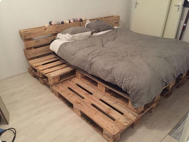 Кровать из поддонов своими руками: пошаговый мастер-класс с фото и видео