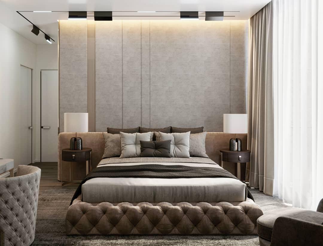Как оформить спальню в стиле модерн: стильные идеи интерьера (фото и видео), рекомендации дизайнеров