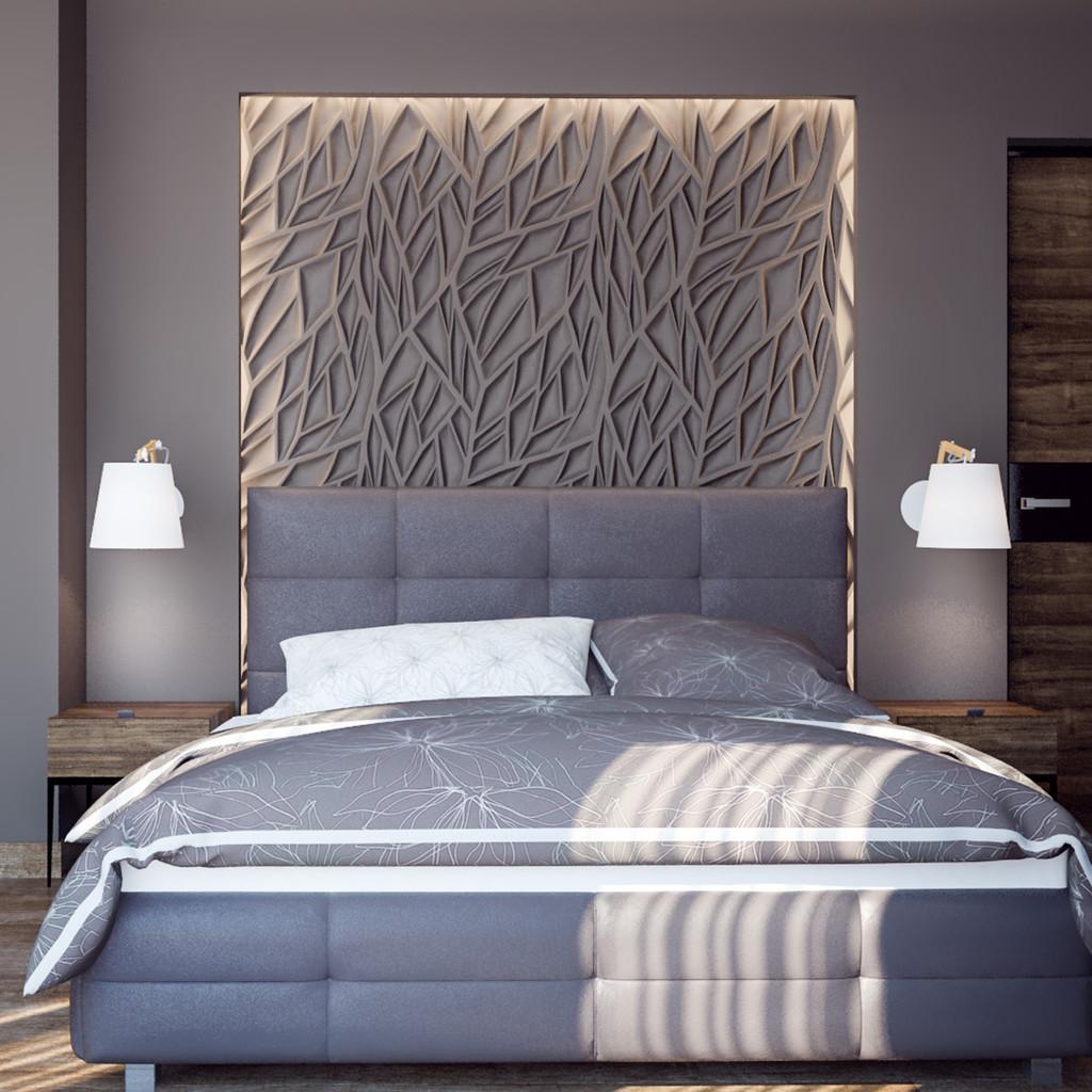 Как оформить стену над кроватью [120+ фото] — 32 идеи отделки и декора в 2021 году