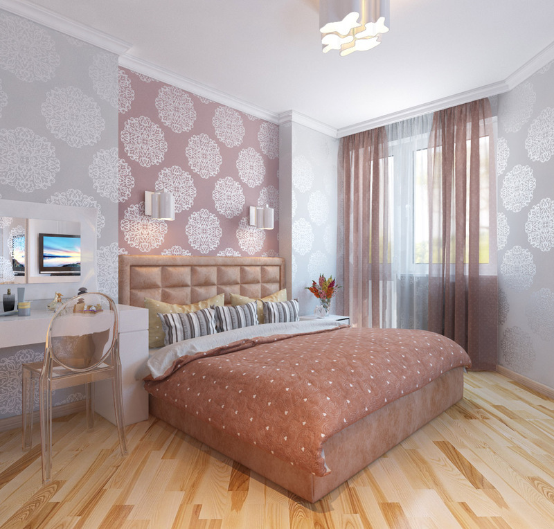 Обои для спальни в 2021 году [180+ фото реальных интерьеров]: модные тренды, современные виды