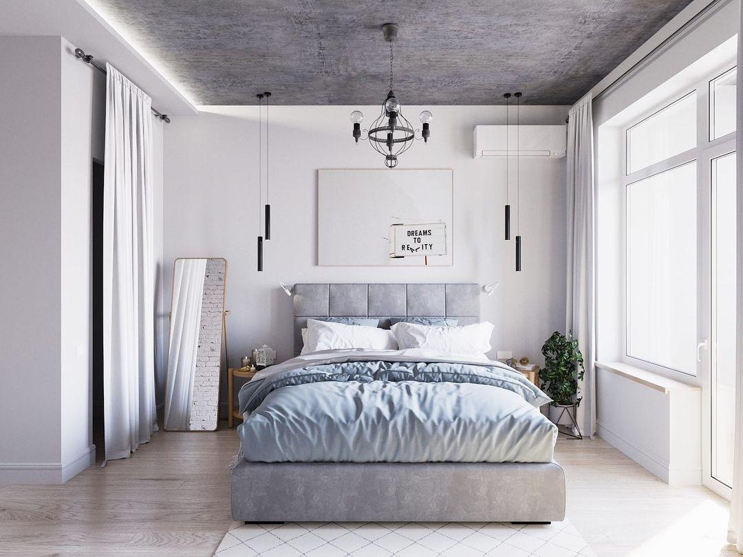 Спальня в скандинавском стиле [180+ фото] подробный гайд по оформлению и дизайну